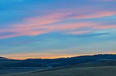 Big Sky (stevenbulman44) Tags: pink sky color canon landscape spring tripod filter alberta lseries 70200f28l
