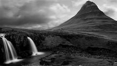 it's Good Evening from me and from Kirkjufell (lunaryuna) Tags: longexposure mountain beauty season landscape iceland spring ngc le waterfalls lunaryuna kirkjufell lateevening panoramicviews snaefellsnespeninsula beforenightfall westiceland kirkjufellsfoss archaiclandscape
