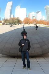 IMG_6195 (Panda and Penguin Adventures) Tags: park sculpture chicago canon illinois milleniumpark cloudgate efs1755mmf28isusm
