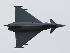 Cosford Typhoon (The Crewe Chronicler) Tags: canon airplane aircraft aeroplane typhoon raf airdisplay cosford rafcosford cosfordairshow raftyphoon lserieslens rafcosfordairshow typhoonfgr4 canon7dmarkii