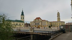 Oradea - Town Hall (Flavius Ivașca) Tags: square town hall union romania townhall transylvania transilvania piata primarie bihar oradea primaria grosswardein nagyvarad unirii bihor crisana piața crișana
