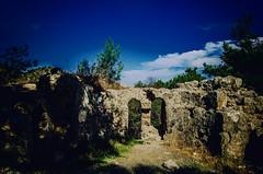 Ruined (Melissa Maples) Tags: turkey nikon ruins asia roman trkiye nikkor chimera vr afs  chimaira 18200mm  f3556g yanarta  18200mmf3556g iral d5100