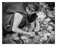 Search for the screw which fits (sdc_foto) Tags: street blackandwhite bw woman metal screws pentax market streetphotography vietnam oldwoman hanoi searching pentaxart pentaxk30 sdcfoto