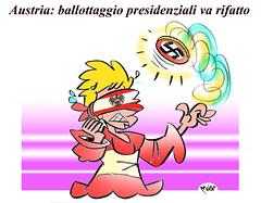 AustriaBallottaggio (Moise-Creativo Galattico) Tags: austria vignette satira attualit moise giornalismo ballottaggio editoriali moiseditoriali editorialiafumetti