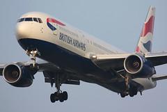 British Airways - G-BNWD (Andrew_Simpson) Tags: heathrow landing ba boeing britishairways lhr 767 heathrowairport baw oneworld 767300 londonheathrow egll 767300er londonheathrowairport oneworldalliance gbnwd n6018n
