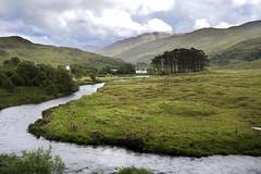 In der Nähe von Mallaig, Schottland,