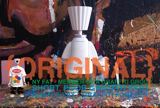 "緊急發售!Michael Lau 6""x2 NY FAT {ORIGINAL} VINYL FIGURE"