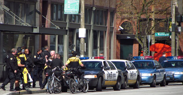 2012-04-13 King County Sheriff and Seattle Police meet-up