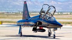 Beale Talon - 2012.04.27 (Jeff D. Welker) Tags: california arizona marysville mesa bealeafb militaryaviation turbojet northropt38atalon phoenixmesagatewayairport fixedwingmultiengine unitedstatesairforceusaf 9threconnaissancewing9rw