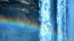 P1030614 (mansionmedia simon knight) Tags: waterfall iceland rainbow mansionmedia