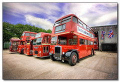 The Transport Museum, Wythall (rjt208) Tags: bus london heritage public buses jubilee flag transport historic queen passenger unionjack unionflag polo rtw 60th doubledecker omnibus londontransport transportmuseum 60years wythall midlandred roadtransport trafficator 3744 diamondjubilee leylandtitan bristolmw bmmo bristolomnibuscompany bammot dax610c leylandtitanpd2 cheltenhamdistrict astonmanor rjt208 leylandpd2 u765 khw306e kgk529 rtw29 bmmod9 xha482 bristolmw6g nha744 bmmod7 bmmos12 twomuseumsday britstolre gotheholeway