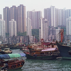 Some call it a tourist trap! (Yvon from Ottawa) Tags: hongkong fishing village floating houseboat lifestyle aberdeen sampan