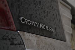 crown victoria after rain :) (Omar Alshowaimi) Tags: rain