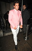 James Argent Celebrities outside Aura Nightclub London, England