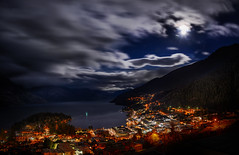Moonlight Clouds – Queenstown at 7:30 AM