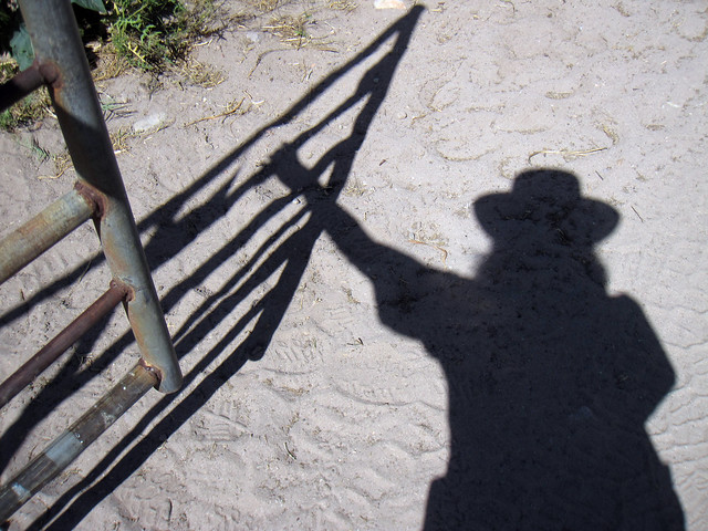 Shadow cowgirl