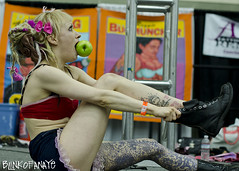Baltimore tattoo (Blinkofanaye) Tags: art tattoo ink body baltimore artists convention annual 6th 2012 inked seranarose