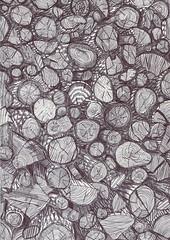 Fire at will (crusaders.drawings) Tags: wood art dessin papier crusader bois crusaders cration