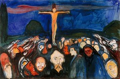 Munch, Edvard (1863-1944) - 1900 Golgotha (Munch Museum, Oslo, Norway) (RasMarley) Tags: religion group norwegian painter 1900 expressionism 20thcentury munch crucifixion golgotha 1900s edvardmunch publiccollection