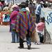 Un bellissimo poncho (Mercado indigeno di Saquisilí)