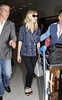 Kirsten Dunst, at Nice Airport during the 65th Cannes Film Festival. Nice, France