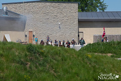 IMG_0142 (Naturally in Niagara) Tags: old war fort battle soldiers british erie reenactment bicentennial culloden 1812