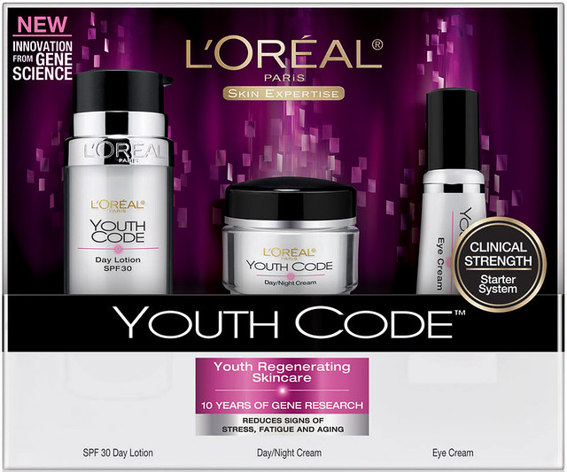 欧莱雅L'Oreal Paris Youth Code Regenerating Skincare Kit青春密码护肤套装$21.28