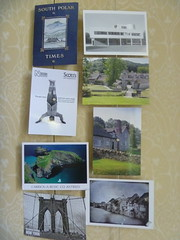 Some of this year's postcards (Woolmark) Tags: 200366 3662012thegreatleapforward 366201227may2012