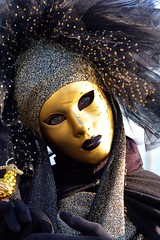 San Marco, Moon Mask at the Carnival of Venice, Venezia, Italy (Photos Girados) Tags: travel carnival venice vacation italy girl geotagged europe mask carnevale venezia maschera veneto geo:tool=yuancc geo:lat=45433372 geo:lon=12340415