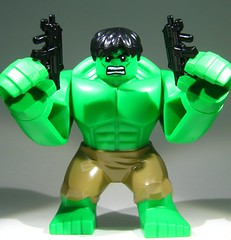 """My finger no fit!"" (BrickArms) Tags: theincrediblehulk xmp brickarms"