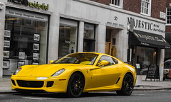 london cars yellow ferrari arabic supercar sportscars gtb supercars streetcars 599 worldcars