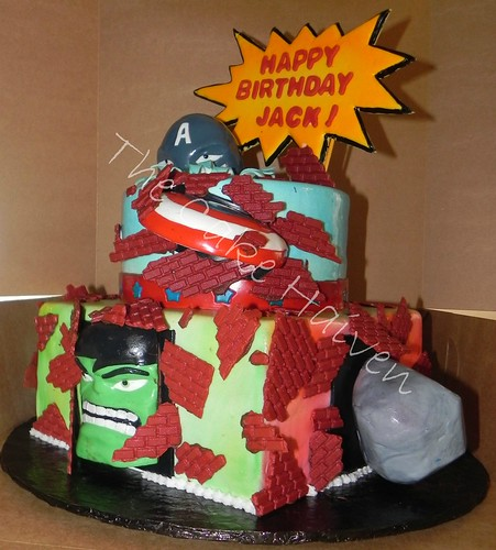 Avenger Cake (c.Other Side View