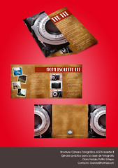 Brochure AGFA Isolette III (Clanaty) Tags: camera graphicdesign brochure camara diseogrfico agfaisoletteiii