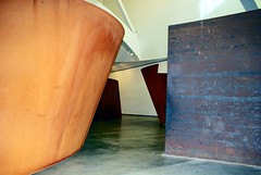 Shapes and Angles (Lochaven) Tags: art architecture modernart angles bilbao guggenheim walls museums