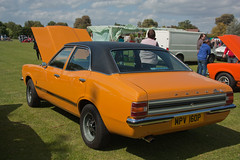 1976 Ford Cortina 1.3 L Mk3 (Trigger's Retro Road Tests!) Tags: show classic ford cortina car retro vehicle l 13 essex 1976 2012 lawford revival mk3 manningtree