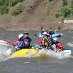 """Stern mount and paddlers - a great way to learn to row <a style=""""margin-left:10px; font-size:0.8em;"""" href=""""http://www.flickr.com/photos/25543971@N05/7397637198/"""" target=""""_blank"""">@flickr</a>"""