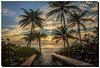 Just a quiet morning... (jeannie'spix) Tags: beach clouds sunrise florida palmtrees fortlauderdale