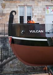 The Vulcan Returns to Summerlee (Pinhole Photography) Tags: museum scotland boat canal vulcan barge lanarkshire coatbridge