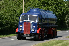 AEC Tanker NYC 943 (SR Photos Torksey) Tags: road classic truck transport run historic lorry preserved tanker haulage aec