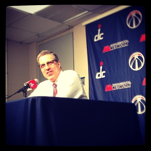 Game 75 #WittmanFace: Playoff happiness for a first-timer, olde-tymer. #Wizards.