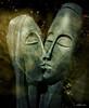 good night, sleep tight (ellynwriting - health slowdown) Tags: kiss market goodnight gardenstatuary