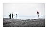 Shore Patrol (icypics) Tags: beach silhouette wales candid negativespace coastal highkey pembrokeshire newgale