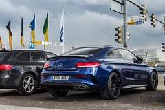 C63 Coup (jansupercars) Tags: new cars car germany mercedes stuttgart automotive spotted luxury coupe amg supercars carphotography 2016 carpictures mercedesamg c63 autogespot