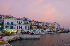 Batsi (foveras13) Tags: sunset summer port island greek nikon greece andros cyclades batsi d5200