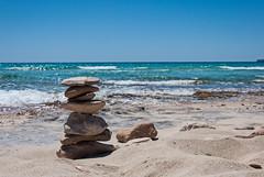 Formentera Cal Des Mort (Darkduke986) Tags: sea sun landscape nikon rocks mare shore zen sole paysage formentera d3000