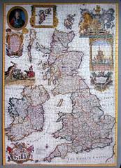 British Isles 1715 (pefkosmad) Tags: old britishisles map hobby puzzle leisure jigsaw complete pastime