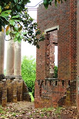 Barboursville ruins (seventh_sense) Tags: house brick history abandoned home america james virginia vineyard ruins decay colonial columns foundation winery governor vineyards plantation historical walls mansion manor barbour derelict deserted burned decaying crumbling barboursville
