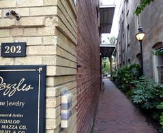 P1110666 (jcravenc) Tags: architecture market citadel south cobblestone charleston carolina madhatter marketst kingst charlestonsouthcarolina marionsquare jcravenc
