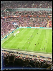 Wembley FA cup final Crystal Palace v Man United (kirstinlewis927) Tags: uk london cup manchester crystal 21 stadium united may palace final fa versus wembley 2016 cpfc