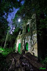 Rebelion Natural (jrandet) Tags: longexposure nightphotography espaa naturaleza huesca luna estrellas nocturna abandonado largaexposicion fotografianocturna fotografiacreativa jrandet